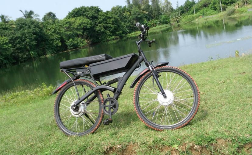 Global Renergy Self Charging Electric Bicycle Prototype