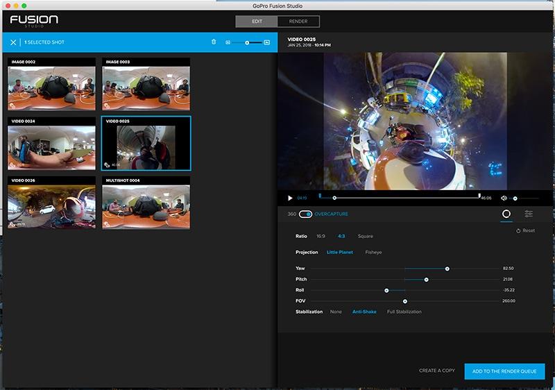 GoPro Fusion FUsion studio ndtv GoPro Fusion