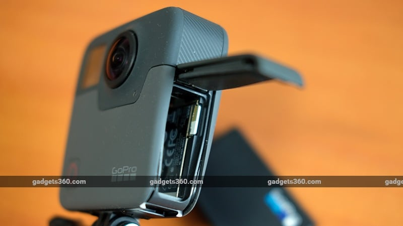 GoPro Fusion battery ndtv GoPro Fusion