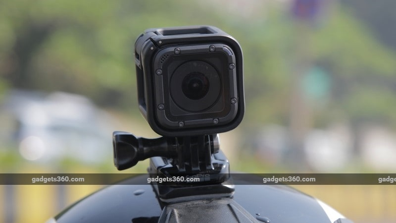 GoPro HEro5 Session mount ndtv gopro