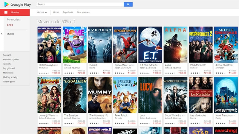 Google Play Holiday Sale Features Discounts on Movies, Books, Comics, and More