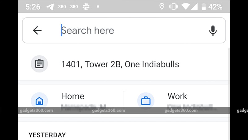 Google Maps Starts Automatically Suggesting Addresses Copied to Clipboard