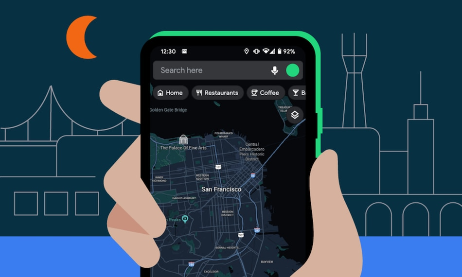 Google Maps Dark Mode for Android Users Starts Rolling Out Globally