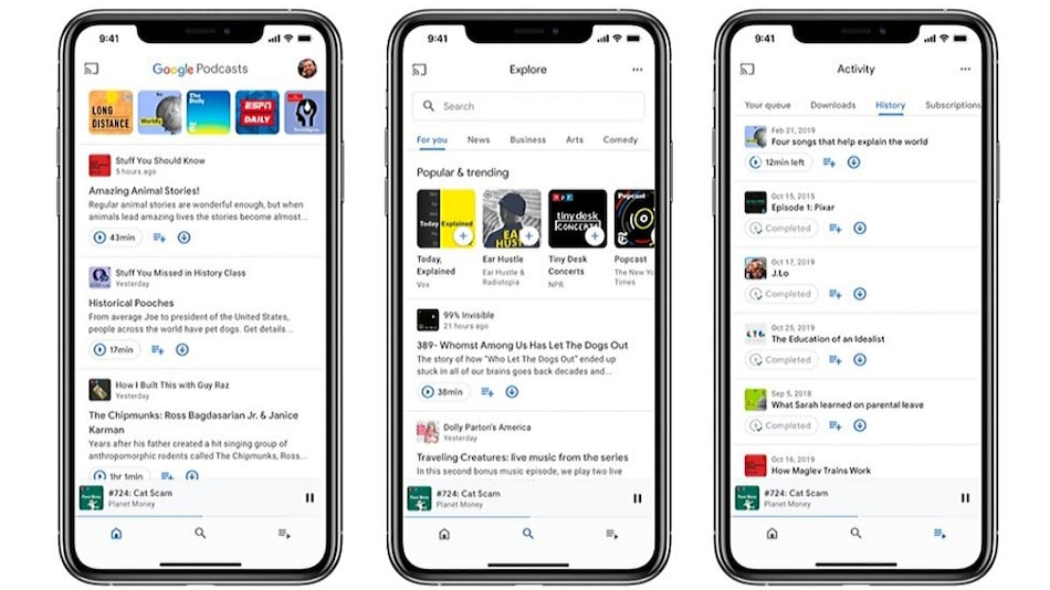 Google Podcasts for iOS Launched, Web Version Now Supports Subscriptions