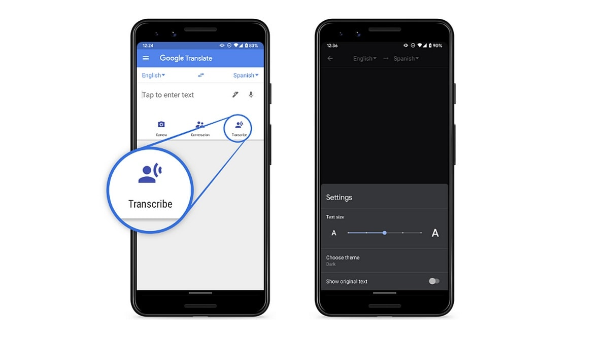 Google Translate App Gets Transcribe Feature for Live Speech to Text Translation in 8 Languages