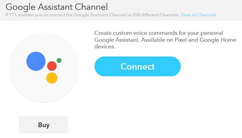 Google Assistant Gets IFTTT Support