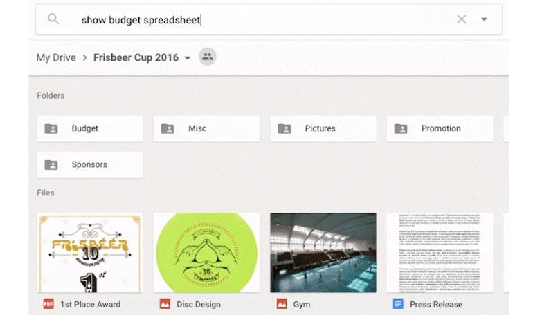 Google Drive Search Gets Natural Language Processing, Suggestions
