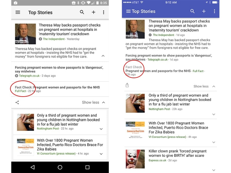 Google to Start Adding 'Fact Check' Tag to Accurate News Articles in Search Results