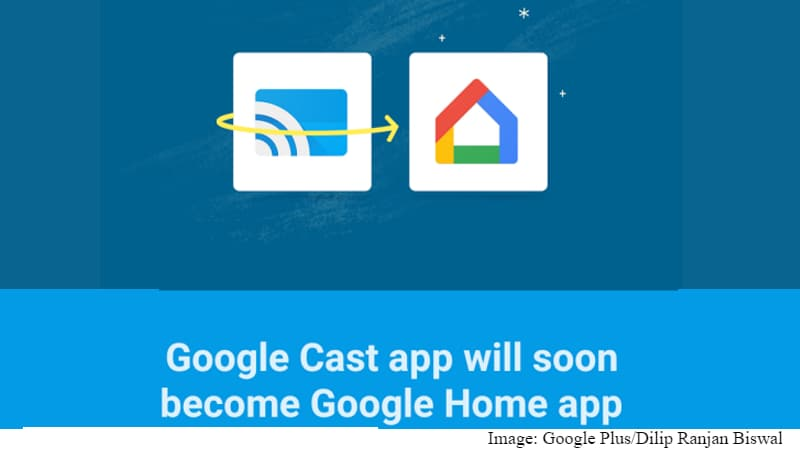 Google Cast App Officially Rebranded to Google Home; Gets Brand ...