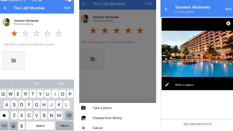 Google Maps for iOS Update Brings Redesigned Widgets and Photo Reviews