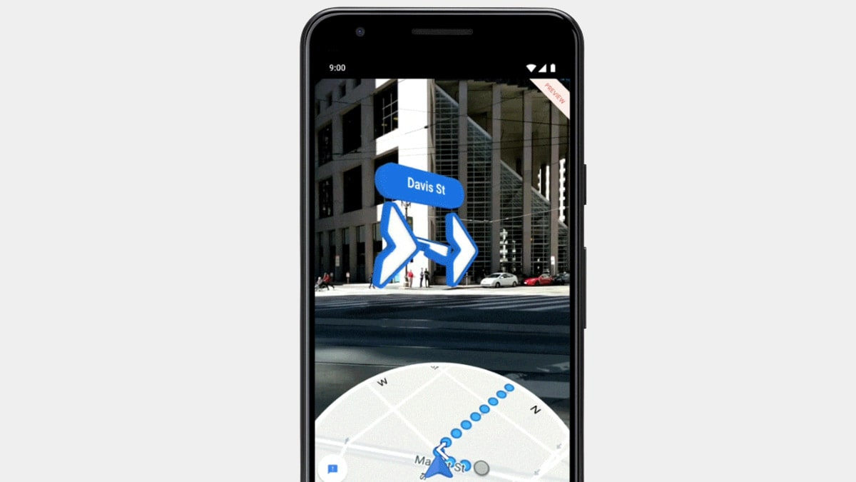Google Maps Augmented Reality Walking Directions Now Rolling ... on get walking directions, bing get directions, google business card, funny google directions, i need to get directions, google earth street view, google mapquest, maps and directions, google us time zones map,
