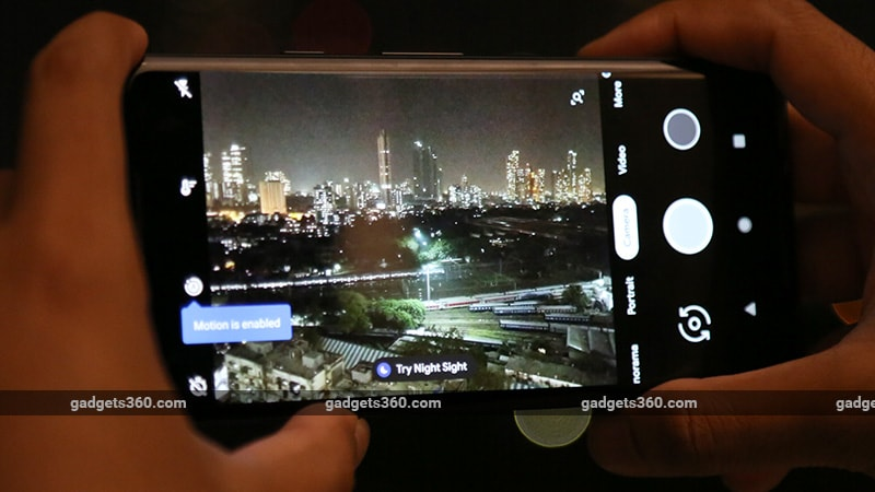 Google Camera App's Night Sight Mode Now Rolling Out to