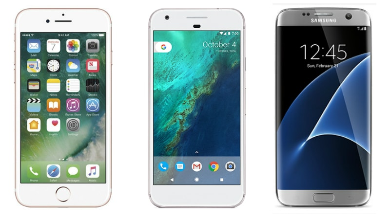 Google Pixel vs iPhone 7 vs Samsung Galaxy S7 Edge: How Does Google's Flagship Compare With Apple's and Samsung's?