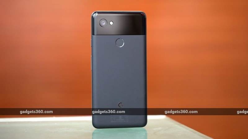 Google Pixel 2 XL back ndtv google pixel 2 camera