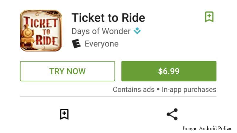 Google Play Starts Listing Streaming Game Trials With 'Try Now' Option | NDTV Gadgets360.com