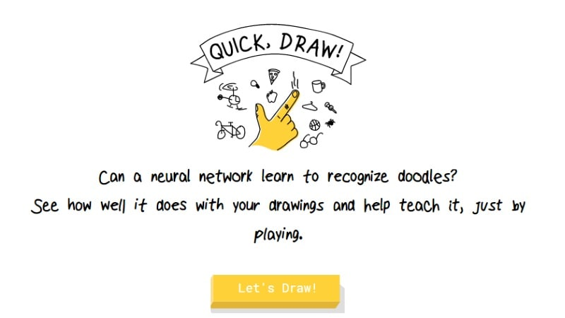 Google Quick Draw Launched, a Web Game That Showcases the ...