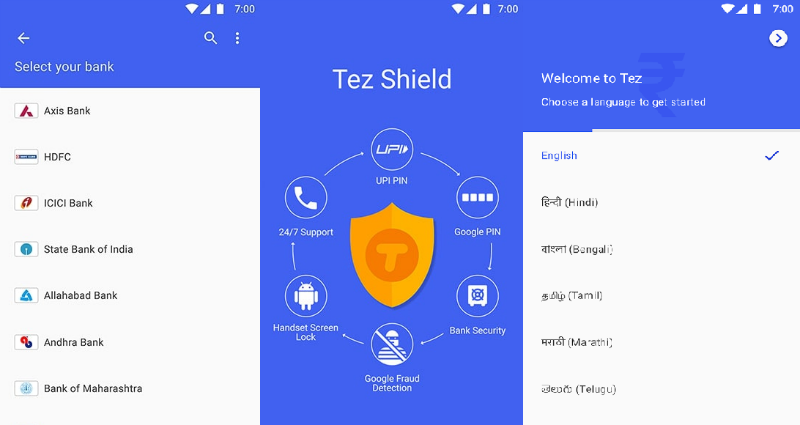Google Tez 1 Google Tez features