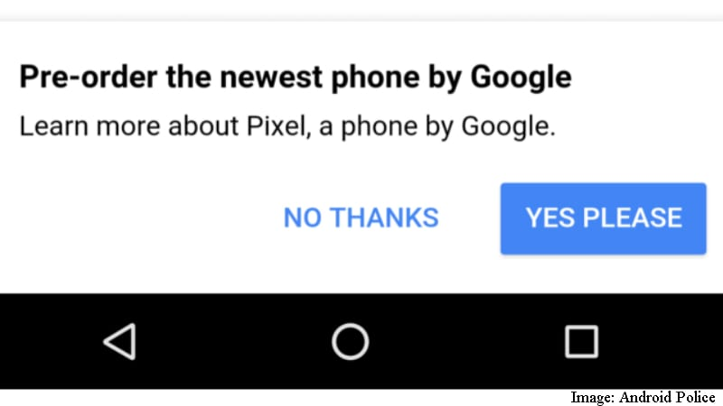 Google Pixel Phone Ads Appear on Home Page; Telstra Ships Handsets a Week Early