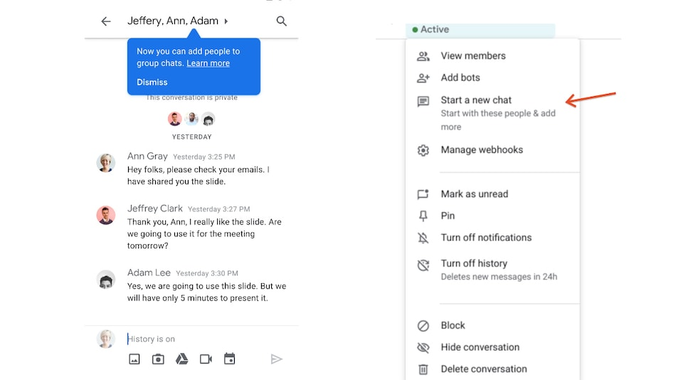 Hangouts Group Conversations to Appear in Google Chat Soon
