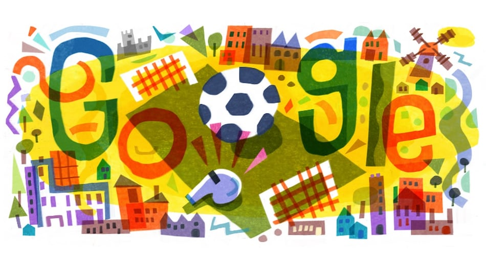 UEFA EURO 2020 Football Tournament Kick Off Commemorated in Google Doodle