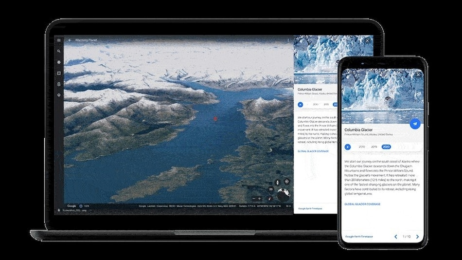 Google Earth Timelapse Shows 4 Decades of Planetary Changes in 4D Experience
