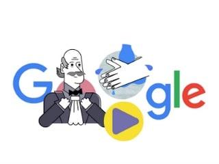 Google Doodle: Dr. Ignaz Semmelweis ने धोना सिखाया था हाथ, गूगल ने किया याद