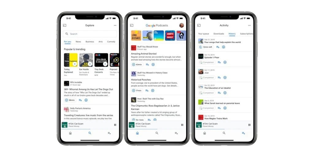 Google Podcasts App May Be Coming Soon to iOS With Refreshed Design
