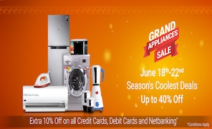 Flipkart's Grand Appliance Sale is ON!