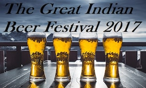 The Great Indian Beer Festival on 8 July, 2017