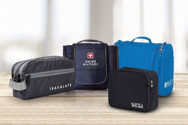 Best Toiletry Bags For Men: Keep All Essentials In One Place