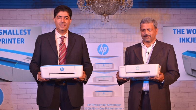 HP DeskJet Ink Advantage 3700 'World's Smallest All-in-One Printer' Launched at Rs. 7,176