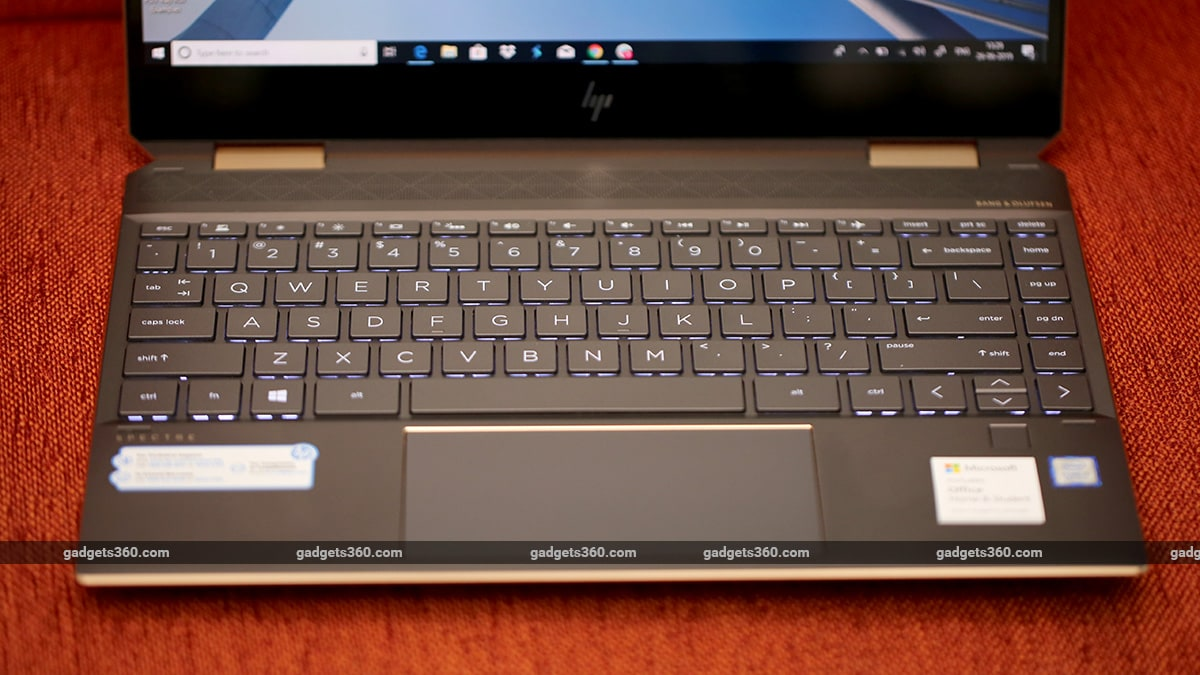 HP Spectre x360 13 keyboard hp