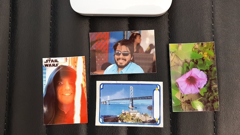 HP Sprocket photos ndtv HP Sprocket