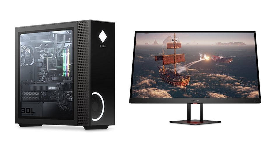 HP Omen 25L and Omen 30L Desktops, Omen 27i Gaming Monitor Launched