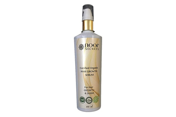 Noor Secrets Organic Hair Growth Serum