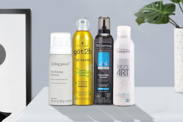 Best Hair Volumising Mousses To Fluff Up Hair