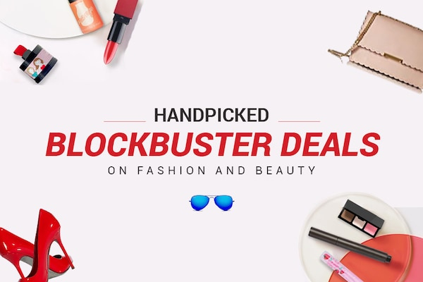 Top Handpicked Blockbuster Deals On Fashion and Beauty