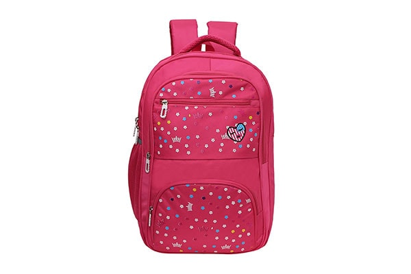 Happile 24 Ltrs 48 cms School Backpack 1614875472403