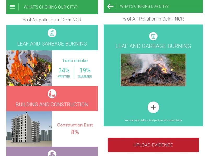 'Hawa Badlo' App Will Let Delhi Residents Report Likely Pollutants