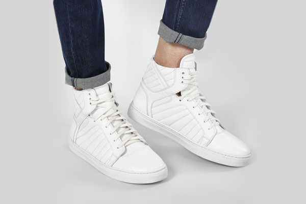 Quilted Hi-Top Sneakers Rodolfo Darrell