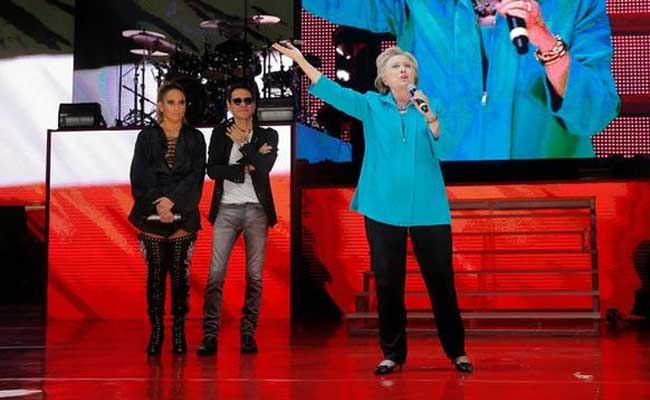 Hillary Clinton Gets Jennifer Lopez Boost In Miami