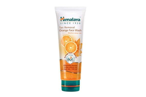 Himalaya Tan Removal Orange Face Wash 1610731940323