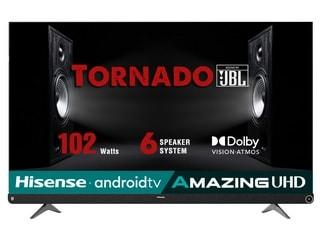 Hisense Tornado 4K 55-Inch TV Priced in India Revealed Ahead of December 24 Sale