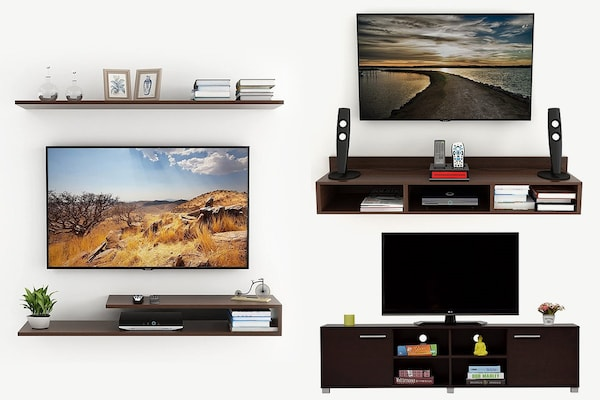 Deck Up Your Walls With The Best TV Units