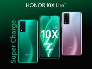 Honor 10X Lite तीन रियर कैमरों के साथ लॉन्च, जानें इसकी सभी खासियतें