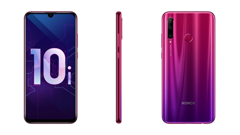 Honor 10i With Kirin 710 SoC, Triple Rear Cameras, 4GB RAM Goes Official: Specifications