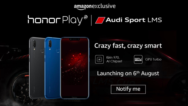 Honor Play India Launch Today: Where to Watch Live Stream