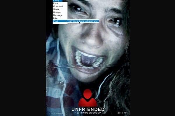 Horror Movies on Netflix- Unfriended