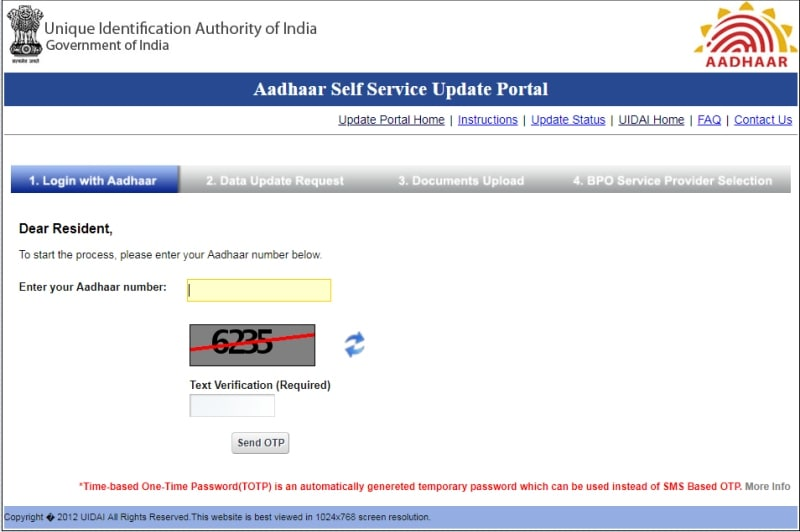 How to Change Aadhaar Address How to Change Aadhaar Address Online