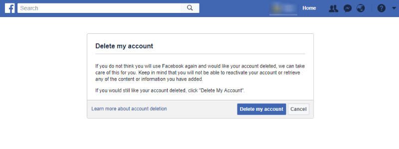 How to Delete a Facebook Account How to Delete a Facebook Account